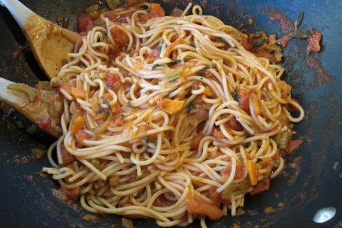 Vegetable Spaghetti